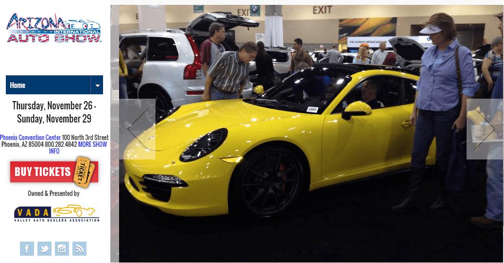 Arizona Auto Show - Car show phoenix convention center