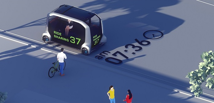 Toyota's New Concept to Combine Ride Sharing and Delivery Services