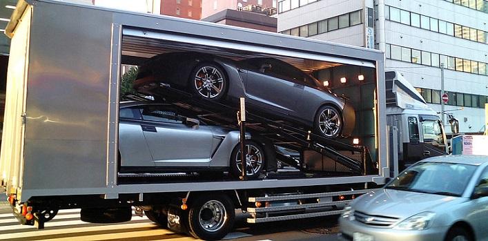 international car transport, enclosed car transport