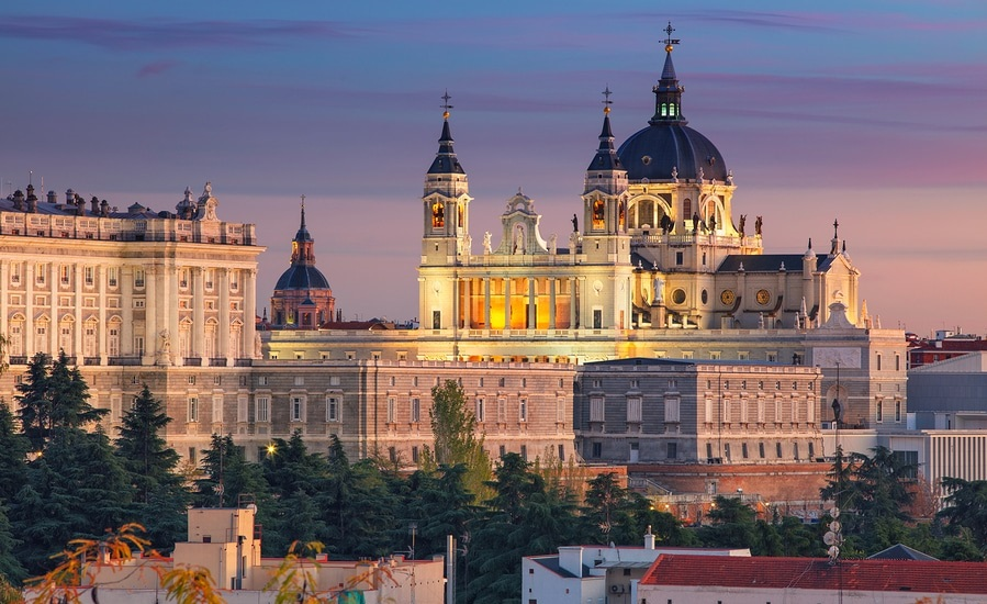 use our FREE price quote calculator to get rates of the top international Madrid, Spain moving companies