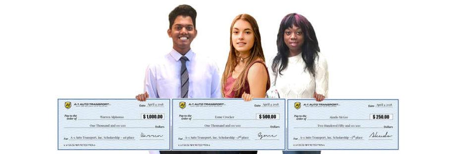 Scholarship Winners 2018