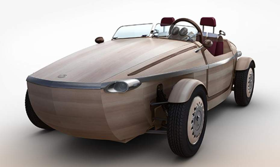 Wooden Cars?Japanese Researchers Experiment with Alternatives to Steel
